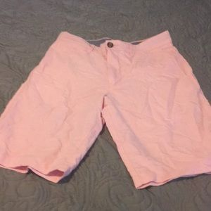 Pink shorts 28 classic shirt with pockets